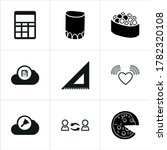 Mixed Themed Icon Sets On White ...