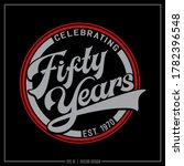 Fifty Years Red And Grey...