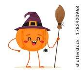 joyful and cute halloween...   Shutterstock .eps vector #1782420968