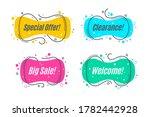 flat linear promotion banner...   Shutterstock .eps vector #1782442928