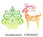 elements for christmas | Shutterstock .eps vector #17824522