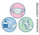 illustration of infection...   Shutterstock .eps vector #1782499988