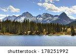 Mountains Of Colorado  A Lake...