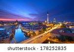 Berlin Skyline City Panorama...