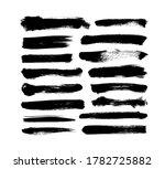 vector grungy paint brush... | Shutterstock .eps vector #1782725882