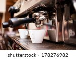 espresso machine making coffee... | Shutterstock . vector #178276982