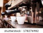 espresso machine making coffee... | Shutterstock . vector #178276982