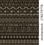 seamless tribal print. abstract ... | Shutterstock .eps vector #178279778