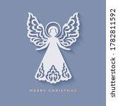 Angel With Beautiful Ornamental ...