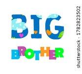big brother slogan modern... | Shutterstock . vector #1782823502