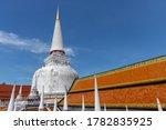 Ancient Pagoda In Wat Mahathat...
