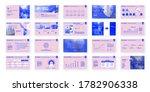 geometric purple presentation... | Shutterstock .eps vector #1782906338