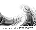 abstract hair curls from thin... | Shutterstock .eps vector #1782950675