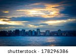 view of a city beach in the... | Shutterstock . vector #178296386