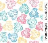 imprints herbs  flowers and... | Shutterstock .eps vector #1783014842