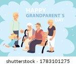happy family  parents ... | Shutterstock .eps vector #1783101275