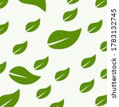 green leaf icon  design of bio ... | Shutterstock .eps vector #1783132745