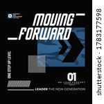 moving forward stylish... | Shutterstock .eps vector #1783177598