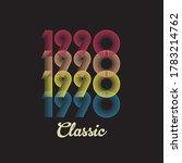 1990 Vector Vintage Retro...