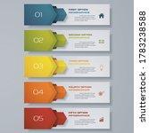 design clean number banners... | Shutterstock .eps vector #1783238588