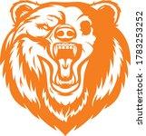lion mascot cartoon vector art... | Shutterstock .eps vector #1783253252