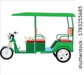 e  rickshaw vector art and...   Shutterstock .eps vector #1783255685