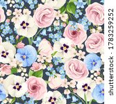 vector seamless pattern with... | Shutterstock .eps vector #1783259252