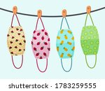 vector design. the colorful... | Shutterstock .eps vector #1783259555