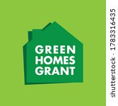 green homes grant scheme badge... | Shutterstock .eps vector #1783316435