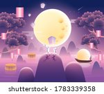 mid autumn festival greetings... | Shutterstock .eps vector #1783339358