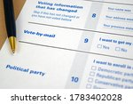mockup  fake   print out...   Shutterstock . vector #1783402028