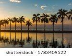 Sunrise On Biscayne Bay In...