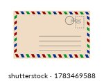 Postcard Isolated On White...