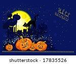 halloween theme | Shutterstock .eps vector #17835526