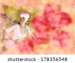 fantasy fairy on colorful... | Shutterstock . vector #178356548