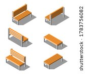 set isometric collection 3d... | Shutterstock .eps vector #1783756082