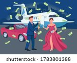 Wealthy Couple Opening...