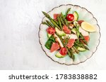 Asparagus Salad  Salad Bowl...