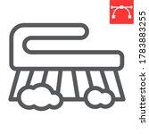 hand scrubbing brush line icon  ... | Shutterstock .eps vector #1783883255