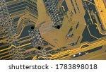 Modern Circuit Board Backgroun...