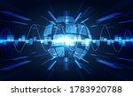 vector abstract futuristic... | Shutterstock .eps vector #1783920788