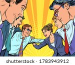 good business team concept. pop ...   Shutterstock .eps vector #1783943912