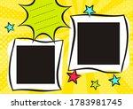 children's photo book in pop... | Shutterstock .eps vector #1783981745