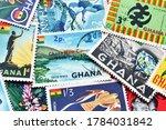 ghana   circa 1950 1990  ... | Shutterstock . vector #1784031842