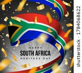 happy south africa heritage day ... | Shutterstock .eps vector #1784068622
