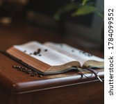 Coffee Beans On Bible Psalms...