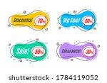 flat linear promotion banner... | Shutterstock .eps vector #1784119052