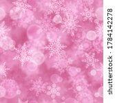 christmas seamless pattern of...   Shutterstock .eps vector #1784142278