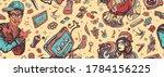 audio cassette  break dance art.... | Shutterstock .eps vector #1784156225