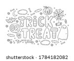 Trick Or Treat Coloring Page....